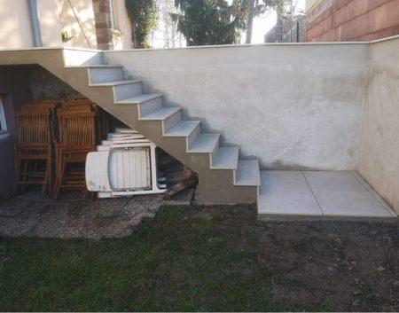 Escalier en Grès Cérame