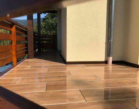 Terrasse grès cérame 30/120