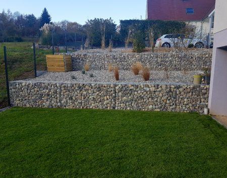 Création d'un jardin contemporain
