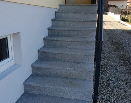 Escalier granit