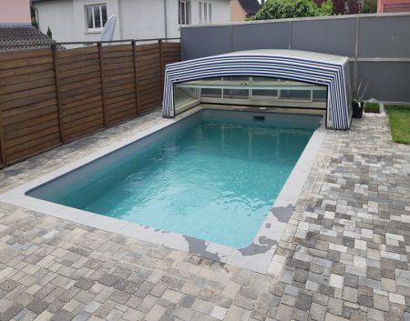 Réfection de piscine 7 x 4 m