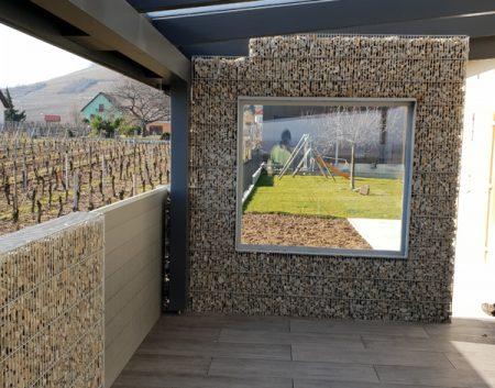 Aménagement d'une terrasse et de la périphérie de la maison